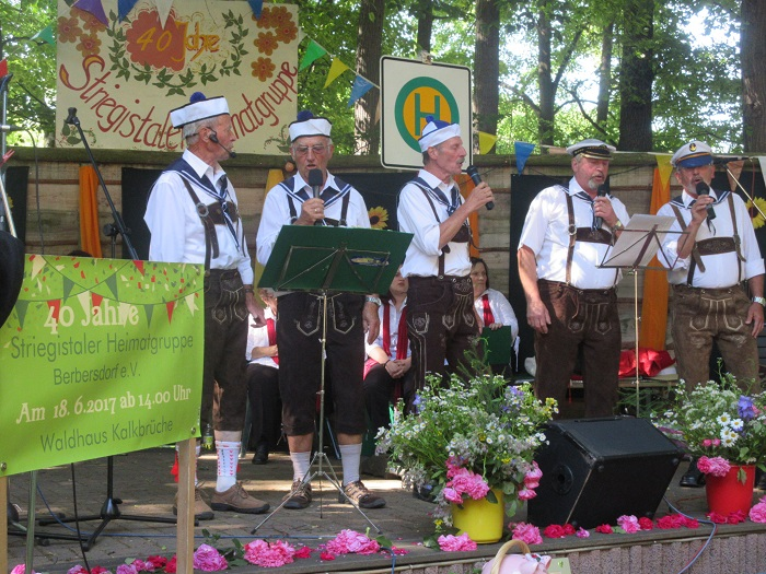 "18.06.2017 - 40jähriges Jubiläum der ""Striegistaler Heimatgruppe"""