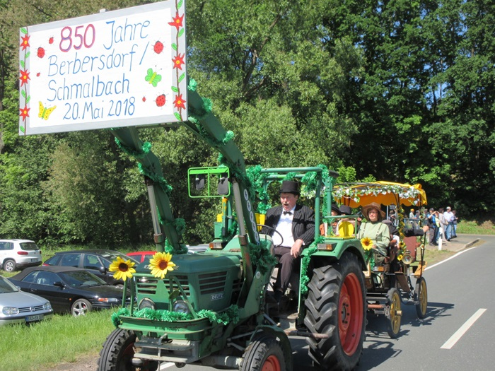 850 Jahre Berbersdorf - Festumzug