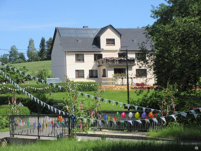 850 Jahre Berbersdorf - Geschmückte Grundstücke