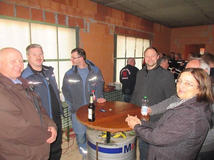 09.03.2017 - Richtfest neues Feuerwehrgerätehaus Naundorf