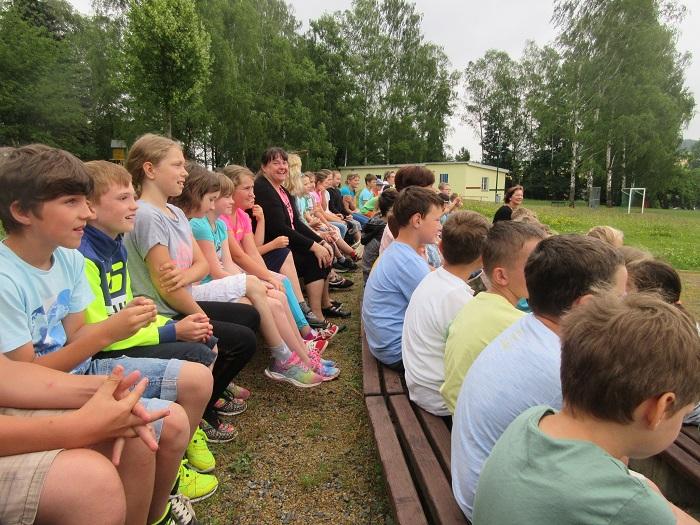 23.06.2017 - Verabschiedung von Frau Merker in der Grundschule Marbach