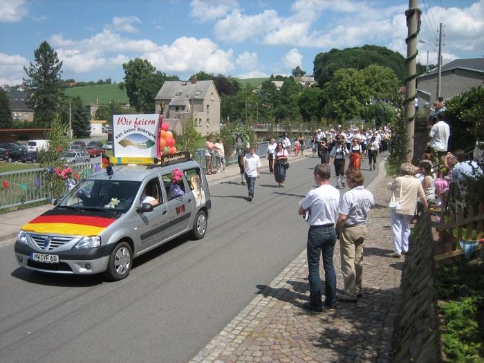 Im Jahr 2008 feierten die Böhrigener und ihre Gäste das 825-jährige Bestehen ihres Heimatortes.