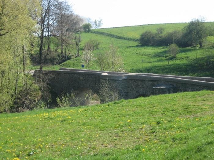 Historische Brücke über die Große Striegis
