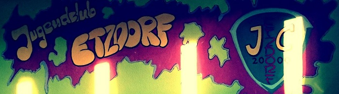 Jugendclub Etzdorf - Wandgestaltung mit Logo