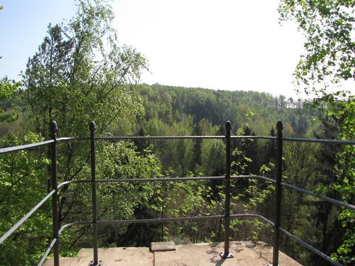 Aussichtsplattform am Hohen Stein