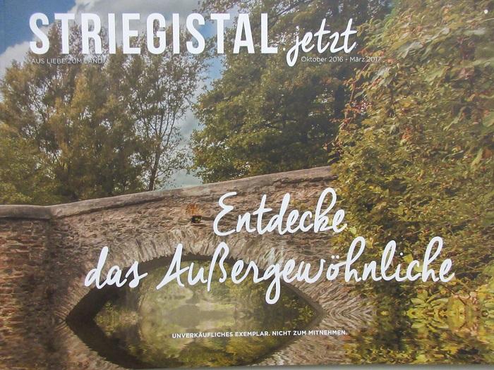 """Sicherlich nicht nur für Striegistaler Bürger interessant sind die Angebote der Unternehmen der gerade neu erschienenen ersten Ausgabe der Werbebroschüre """"Striegistal.jetzt""""."""