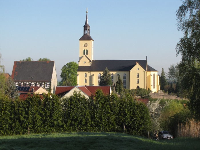 Die Marienkirche zu Etzdorf.
