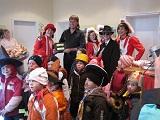 11.11.2009 - der Marbacher Karnevalsverein übernimmt die Gemeindekasse.