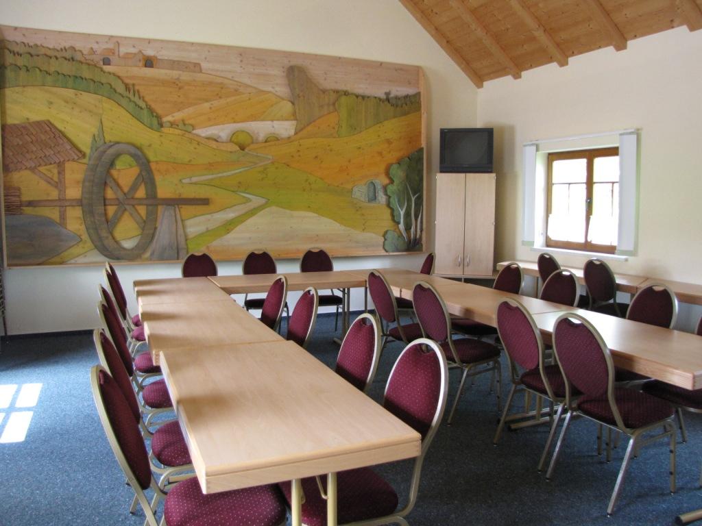 Mobendorf Dorfgemeinschaftshaus Veranstaltungsraum