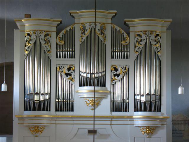 Restaurierte Orgel in der Marbacher Kirche