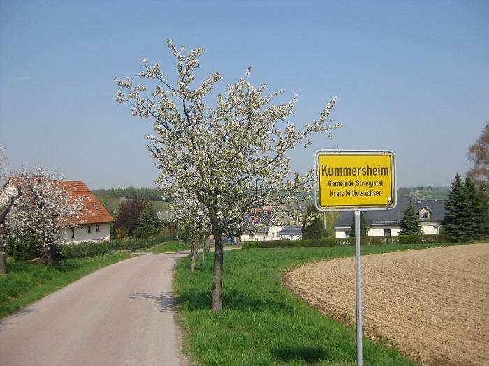 Ortseingang von Kummersheim