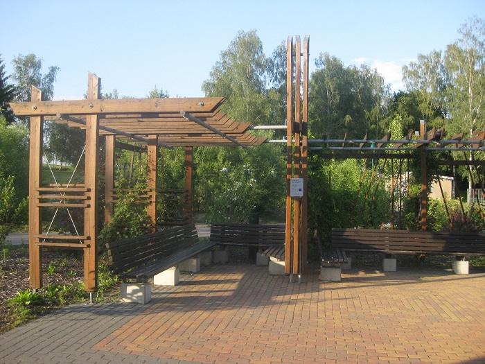 Neu gestalteter Pausenplatz für die Schüler der Grundschule in Marbach.