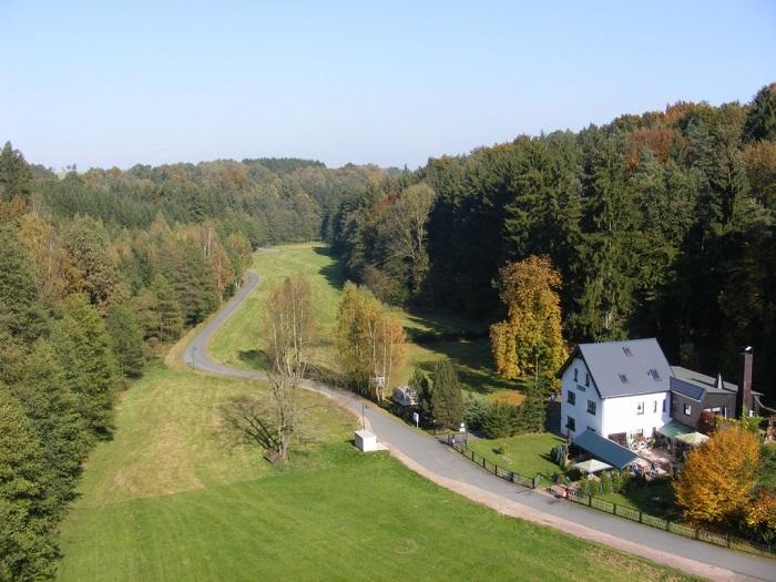 Gasthaus und Pension Wiesenmühle in Mobendorf