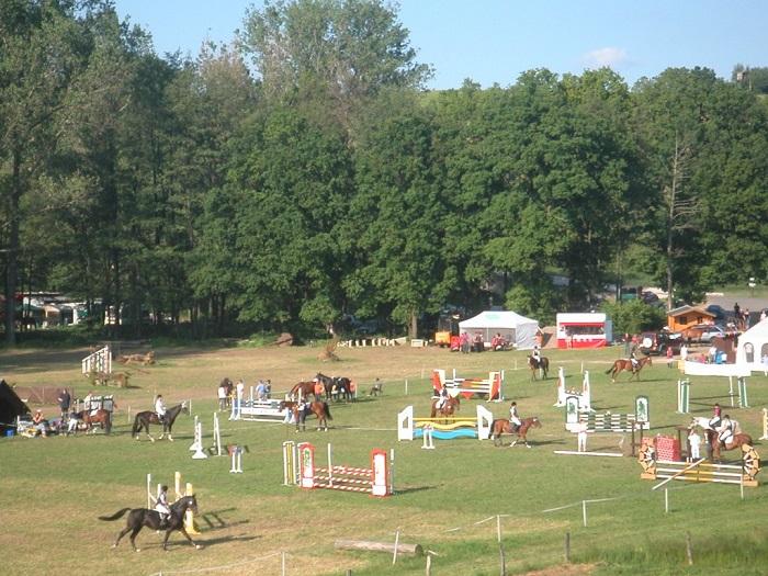 Auf dem Pappendorfer Reitplatz finden jährlich große Turniere statt.