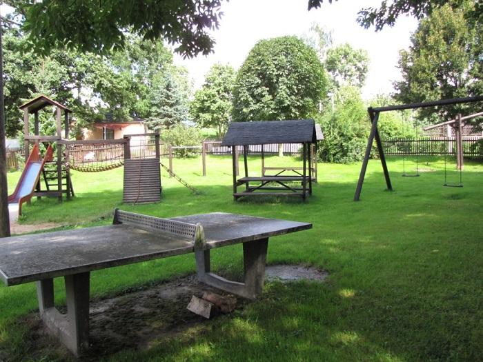 Öffentlicher Spielplatz in der Ortsmitte Schmalbach