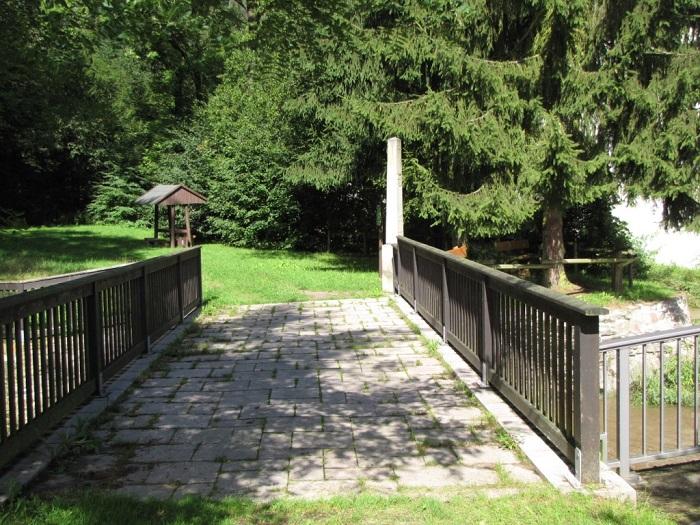 Brücke am Striegiszusammenfluss